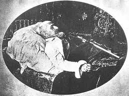 Eliphas Levi on his death bed.jpeg