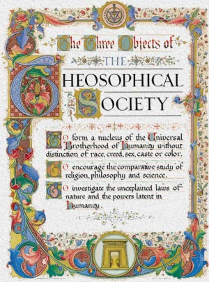 Three Objects of the Theosophical Society, Adyar