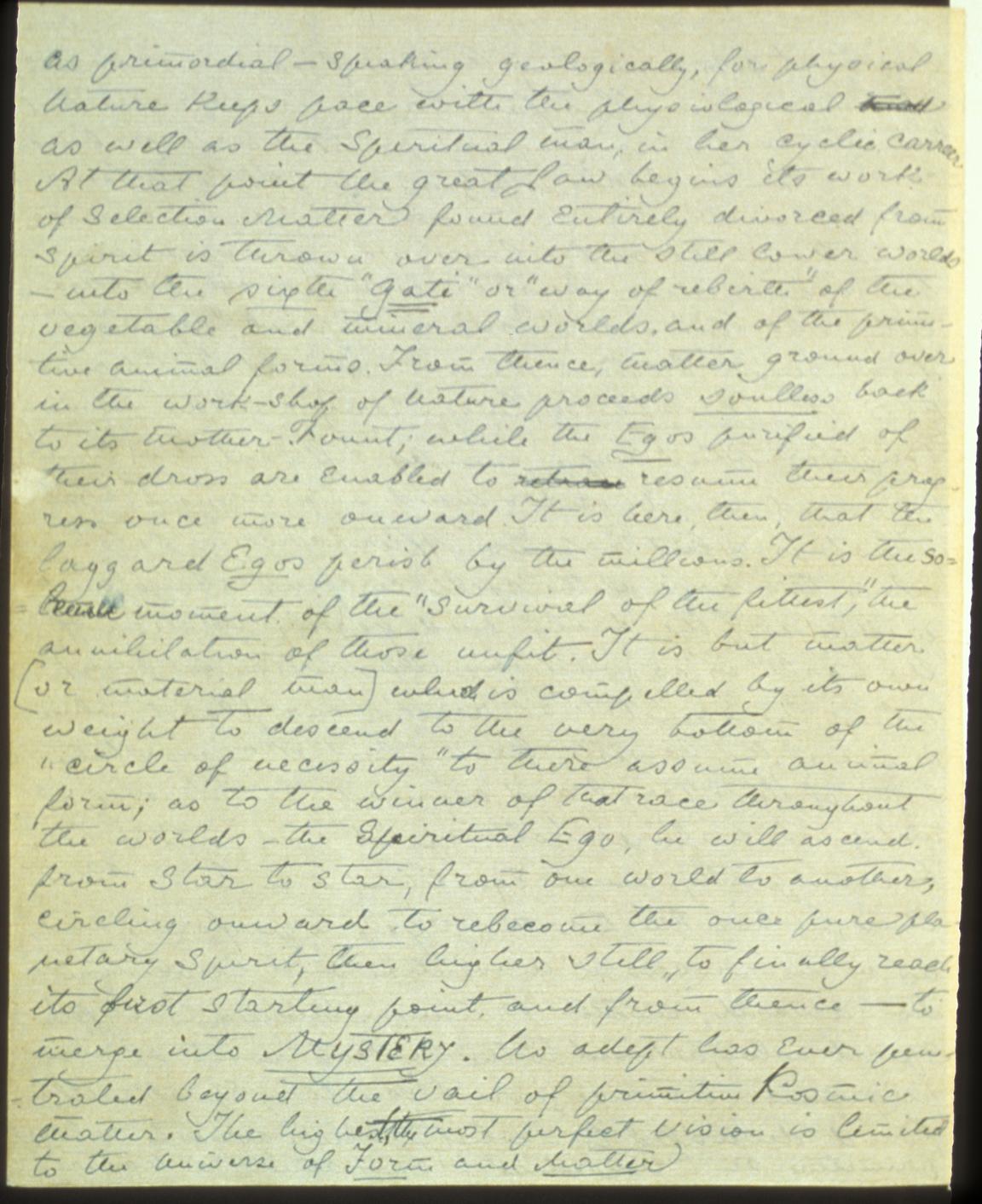 Mahatma Letter No 18