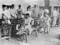 1919 Woodworking at Boys National School, Benares.jpg